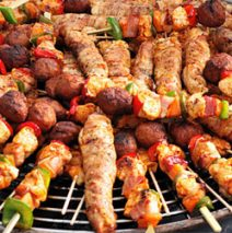 BBQ-arrangementen: BBQ Party A